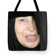 Orthodox Woman At Nativity Church Tote Bag