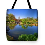 Osaka Garden Pond Tote Bag