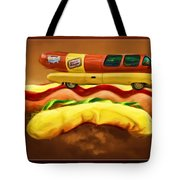 Oscar Mayar Car Tote Bag