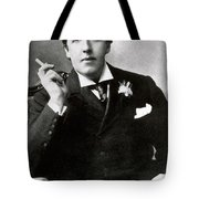 Oscar Wilde, Irish Author Tote Bag by Photo Researchers