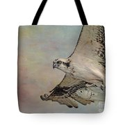 Osprey And Fish Tote Bag