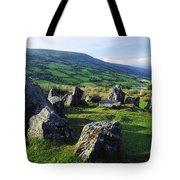 Ossians Grave, Co Antrim, Ireland Stone Tote Bag