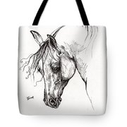 Ostragon Polish Arabian Horse 1 Tote Bag