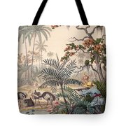 Ostrich Hunting, 1853 Tote Bag