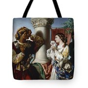 Othello And Desdemona Tote Bag