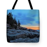 Otter Point At Dawn Tote Bag