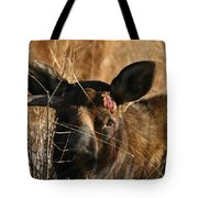 Ouch Tote Bag
