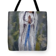 Our Lady Of Lourdes 2 Tote Bag