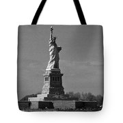 Our Lady Of The Harbor Tote Bag
