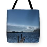 Out Into The Bay Tote Bag