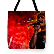 Out Of A Fiery Fog Tote Bag