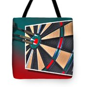 Out Of Bounds Bullseye Tote Bag
