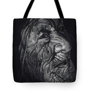Out Of Greaheadedness Wisdome Comes Forth Tote Bag by Yenni Harrison