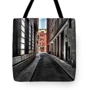 Out Of The Alley Tote Bag