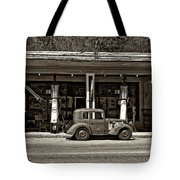 Out Of The Past Sepia Tote Bag