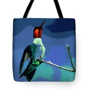 Out On A Limb - Blue Tote Bag