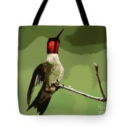Out On A Limb - Green Tote Bag