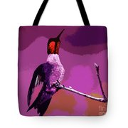 Out On A Limb - Pink Tote Bag