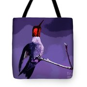Out On A Limb - Purple Tote Bag