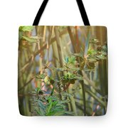 Out On The Pond Tote Bag