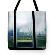 Out The Back Window Of The Delta Blues Museum Clarksdale Ms Tote Bag