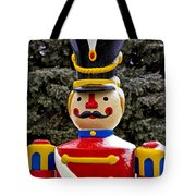 Outdoor Toy Soldier Tote Bag