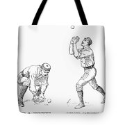 Outfielder, 1889 Tote Bag