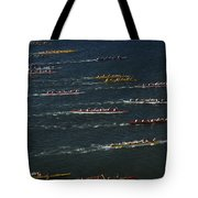 Outrigger Canoes Race From Molokai Tote Bag