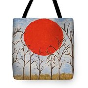 Outset Sunset Tote Bag