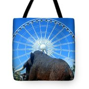 Over Mammoth Proportion  Tote Bag