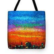 Over The Bay 17 45 Tote Bag