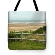 Over The Fence Ocean View Tote Bag