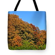 Over The Hedge Tote Bag