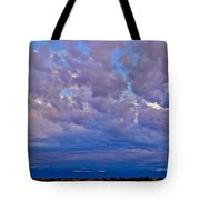 Over The Palisades Range Tote Bag