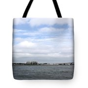 Over The Pass Tote Bag