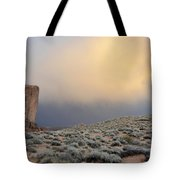 Over The Sagebrush Tote Bag