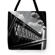 Over The Thames Tote Bag
