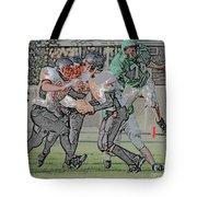Over The Top Digital Art Tote Bag
