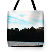 Over Water Tote Bag