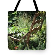 Overgrown Chair Tote Bag