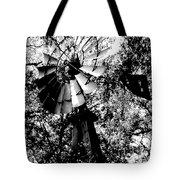 Overgrown Windpump Tote Bag