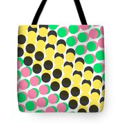 Overlayed Dots Tote Bag