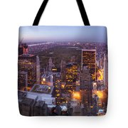 Overlooking Central Park Tote Bag