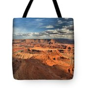 Overlooking Dead Horse Point Tote Bag