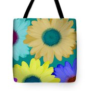 Oversize Daisies Tote Bag