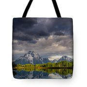 Oxbow Light And Clouds Tote Bag