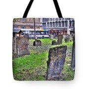 Oxford England Graveyard Tote Bag