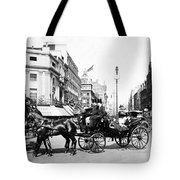 Oxford Street - London - England - C 1909 Tote Bag