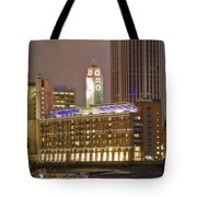 Oxo Tower Night   Tote Bag