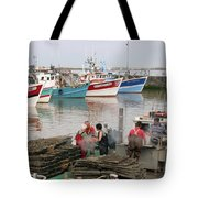 Oyster Harvest Tote Bag